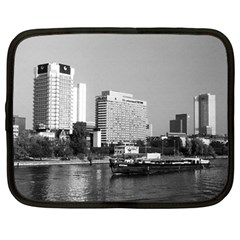 Vintage Germany Frankfurt Main river 1970 15  Netbook Case