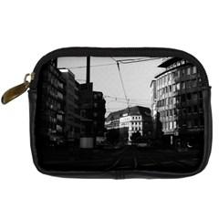 Vintage Germany Frankfurt City street 1970 Compact Camera Case