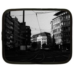 Vintage Germany Frankfurt City street 1970 13  Netbook Case