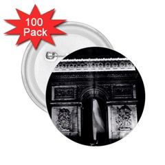 Vintage France Paris Triumphal arch 1970 100 Pack Regular Button (Round)
