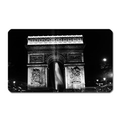 Vintage France Paris Triumphal arch 1970 Large Sticker Magnet (Rectangle)