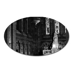 Vintage France Paris Sacre Coeur Basilica Virgin Chapel Large Sticker Magnet (oval)