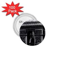 Vintage France Paris Triumphal arch  Place de l Etoile 100 Pack Small Button (Round)