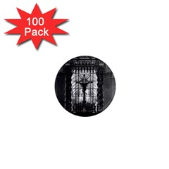 Vintage France Paris royal chapel altar St James Palace 100 Pack Mini Magnet (Round)