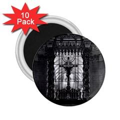 Vintage France Paris royal chapel altar St James Palace 10 Pack Regular Magnet (Round)