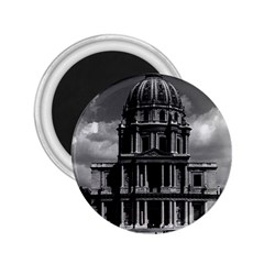 Vintage France Paris Church Saint Louis des Invalides Regular Magnet (Round)