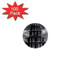 Vintage France Paris Church Saint Louis des Invalides 100 Pack Mini Button (Round)