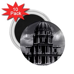 Vintage France Paris Church Saint Louis des Invalides 10 Pack Regular Magnet (Round)