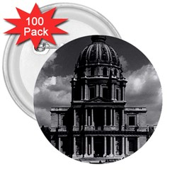 Vintage France Paris Church Saint Louis des Invalides 100 Pack Large Button (Round)
