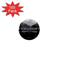 Vintage France Paris Triumphal arch Unknown soldier 100 Pack Mini Magnet (Round)