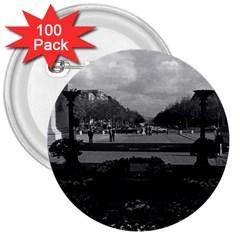 Vintage France Paris Triumphal arch Unknown soldier 100 Pack Large Button (Round)