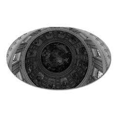 Vintage France Paris dome fresco Charles de la fosse Large Sticker Magnet (Oval)