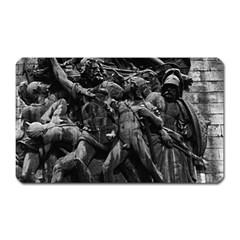 Vintage France Paris Triumphal Arch Marseillaise Rude Large Sticker Magnet (rectangle)