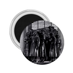 Vintage France Paris  Invalides marshal foch tomb 1970 Regular Magnet (Round)