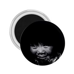 Vintage Usa Alaska Eskimo Child 1970 Regular Magnet (round)