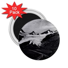 Vintage Usa Alaska Worthington Glacier In Summer 1970 10 Pack Regular Magnet (round)
