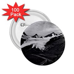 Vintage USA Alaska Worthington glacier in summer 1970 100 Pack Regular Button (Round)