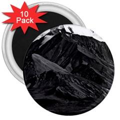 Vintage USA  Alaska Mt Mckinley national park 1970 10 Pack Large Magnet (Round)