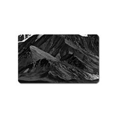 Vintage USA  Alaska Mt Mckinley national park 1970 Name Card Sticker Magnet