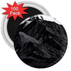 Vintage Usa  Alaska Mt Mckinley National Park 1970 100 Pack Large Magnet (round)