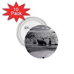 Vintage USA Alaska Mendenhall glacier Juneau 1970 10 Pack Small Button (Round)