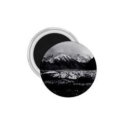 Vintage USA Alaska Matanuska clacier 1970 Small Magnet (Round)