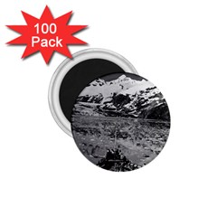 Vintage Usa Alaska Glacier Bay National Monument 1970 100 Pack Small Magnet (round)