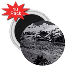 Vintage Usa Alaska Glacier Bay National Monument 1970 10 Pack Regular Magnet (round)