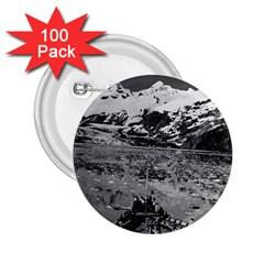 Vintage USA Alaska glacier bay national monument 1970 100 Pack Regular Button (Round)