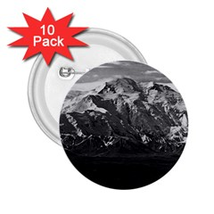 Vintage USA Alaska Beautiful Mt Mckinley 1970 10 Pack Regular Button (Round)