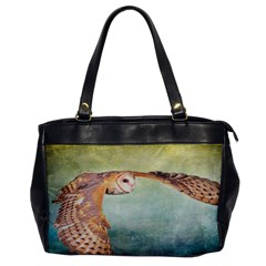 Barn Owl Single Sided Oversized Handbag