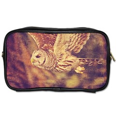 Barred Owl Single Sided Personal Care Bag