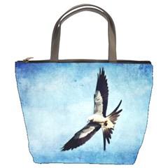 Swallow-tailed Kite Bucket Handbag