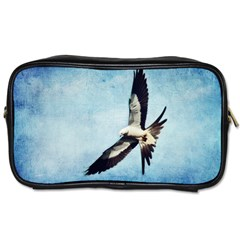 Swallow Tailed Kite Twin Sided Personal Care Bag