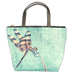 Dragonfly Bucket Handbag