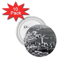 Vintage Principality Of Monaco  The Port Of Monte Carlo 10 Pack Small Button (round)