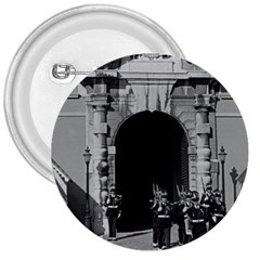 Vintage Principality Of Monaco Palace Gate And Guard Large Button (round)