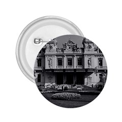 Vintage Principality of Monaco Monte Carlo Casino Regular Button (Round)