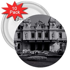 Vintage Principality of Monaco Monte Carlo Casino 10 Pack Large Button (Round)