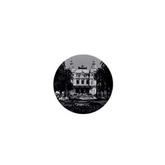 Vintage Principality of Monaco Monte Carlo Casino Mini Magnet (Round)