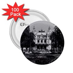 Vintage Principality of Monaco Monte Carlo Casino 100 Pack Regular Button (Round)