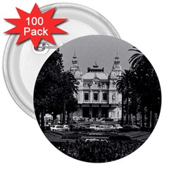 Vintage Principality of Monaco Monte Carlo Casino 100 Pack Large Button (Round)