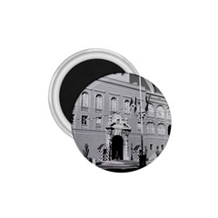Vintage Principality Of Monaco Princely Palace 1970 Small Magnet (round)