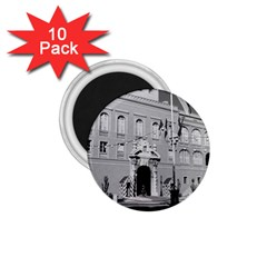 Vintage Principality Of Monaco Princely Palace 1970 10 Pack Small Magnet (round)