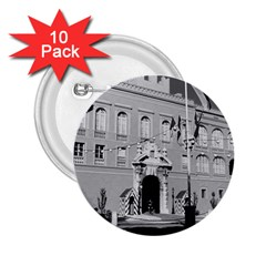 Vintage Principality Of Monaco Princely Palace 1970 10 Pack Regular Button (round)