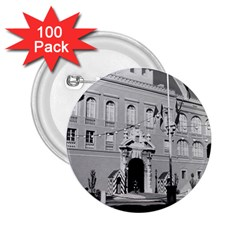 Vintage Principality of Monaco princely palace 1970 100 Pack Regular Button (Round)