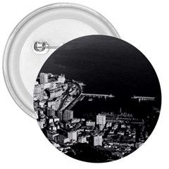 Vintage Principality of Monaco overview 1970 Large Button (Round)