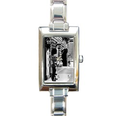Vintage UK England London sentry at Buckingham palace Classic Elegant Ladies Watch (Rectangle)