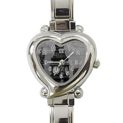 Vintage Uk England London The Post Office Tower Big Ben Classic Elegant Ladies Watch (heart)