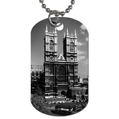 Vintage Uk England London Westminster Abbey 1970 Twin Sided Dog Tag